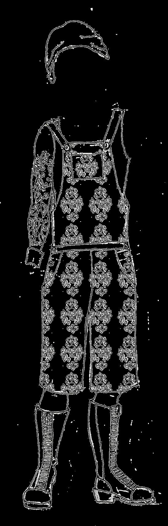 skull overalls